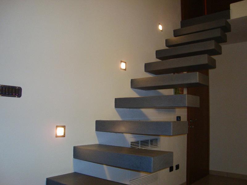 Impianti elettrici illuminazione - Illuminazione scala interna ...