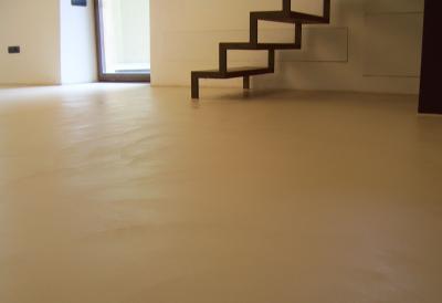 pavimento in resina cementizia - Resine Color